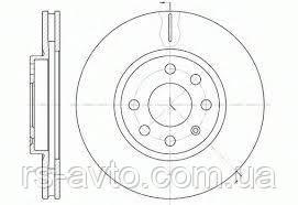 MEYLE Диск тормозной (передний) Opel Combo, Опель Комбо 01- (280x25) 615 521 6035, фото 2