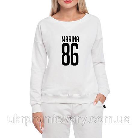 Свитшот женский - Marina 86, отличный подарок купить со скидкой, недорого, фото 2