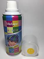 Цветной спрей для волос Mefapo. Цвет золото
