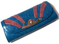 Сумка - клатч голубая очень красивая