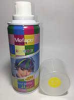 Цветной спрей для волос Mefapo. Цвет желтый