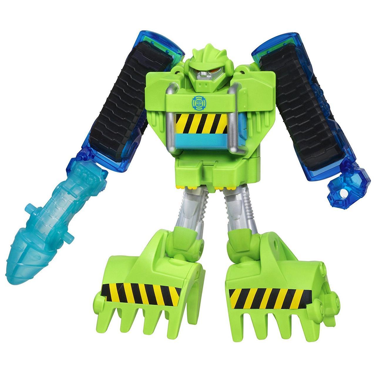 Трансформер Боты Спасатели Болдер Playskool Heroes Transformers Rescue Bots Energize Boulder the Construction-