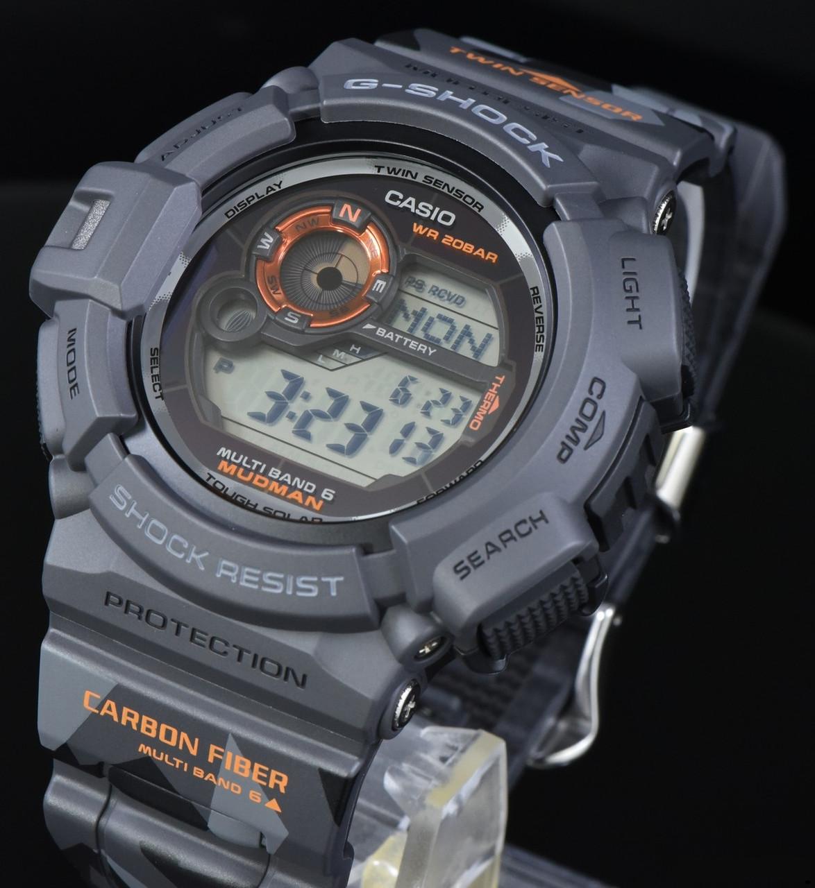 Часы Casio G-Shock GW-9300CM-1E Mudman Limited Edition B.