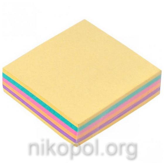 Бумага для заметок 200 листов, клееный блок 80x80мм