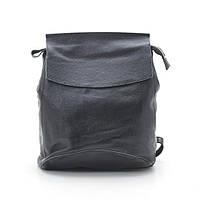 Рюкзак кожаный черный (натуральная кожа), фото 1