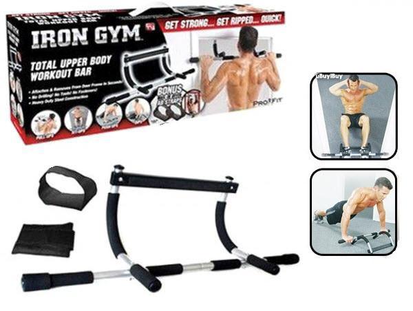 Турник Iron Gym в дверной проем
