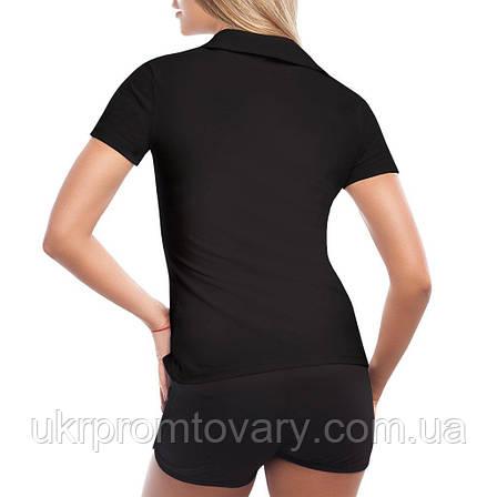 Женская футболка Поло - Legends are born in October, отличный подарок купить со скидкой, недорого, фото 2