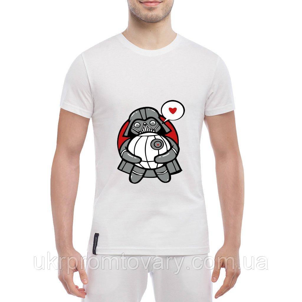 Мужская футболка - The Death Star, отличный подарок купить со скидкой, недорого