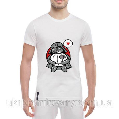 Мужская футболка - The Death Star, отличный подарок купить со скидкой, недорого, фото 2
