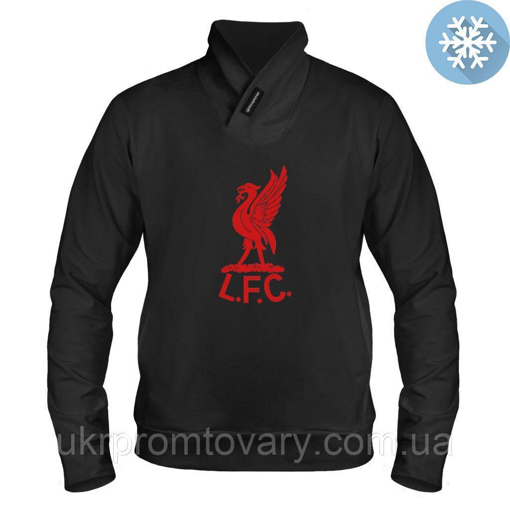 Толстовка утепленная - Liverpool 1960s logo, отличный подарок купить со скидкой, недорого