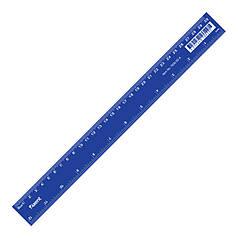 """Линейка пластиковая """"Axent"""" 30 см синяя"""