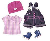 Одежда для кукол Беби Борн Baby Born летняя одежда Новинка Doll Clothes Pony Farm Deluxe Zapf Creation 823682, фото 1