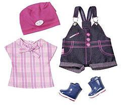 Одежда для кукол Беби Борн Baby Born летняя одежда Новинка Doll Clothes Pony Farm Deluxe Zapf Creation 823682