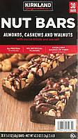 Батончики США Kirkland  Мендаль шоколад  NUT Bars, (40 g)