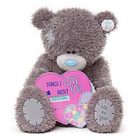 Ведмедик Teddy MTY з серцем 71 см