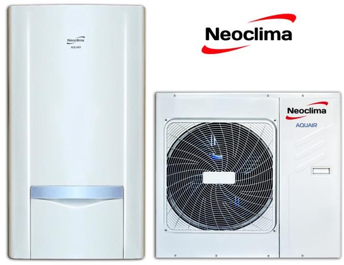Тепловий насос «повітря-вода» Neoclima AQUAIR, серія EVA, NS-HP120AH1