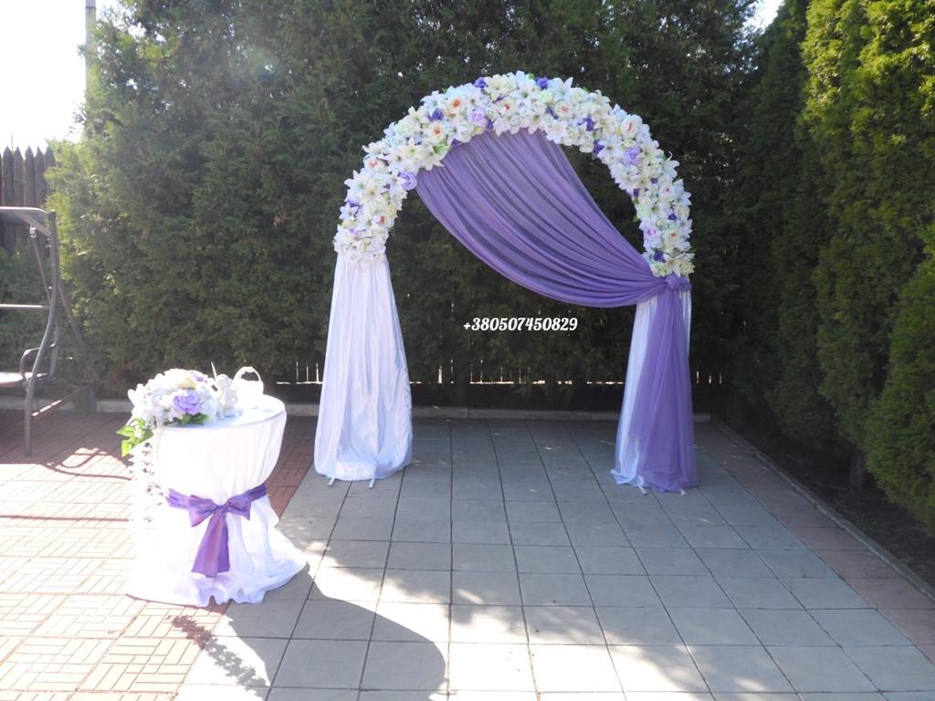 dd31d1950f316 Арка из искусственных цветов на свадьбу -