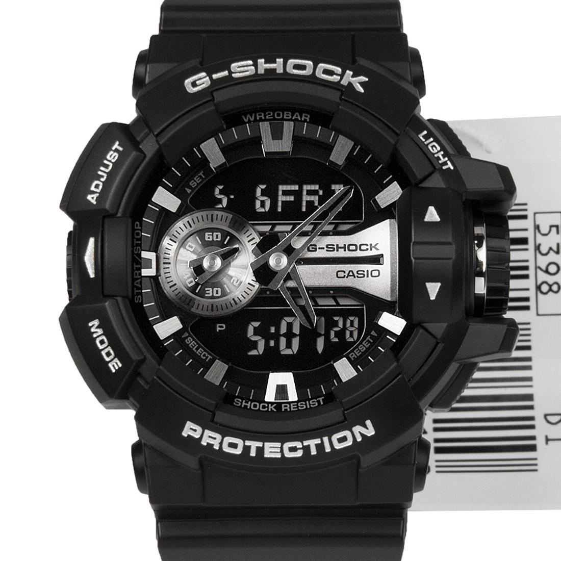 Часы Casio G-Shock GA-400GB-1A Silver
