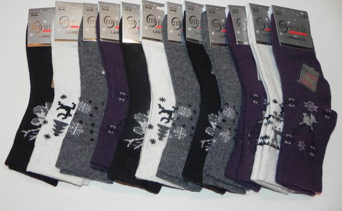 Термо носки женские шерстяные Marde Турция, фото 2