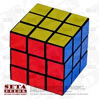 Кубик Рубика пластик многоцветный