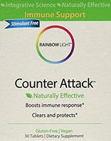 Counter Attack, Активация иммунного здоровья, Rainbow Light, Herbal Prescriptives, 30 таблеток