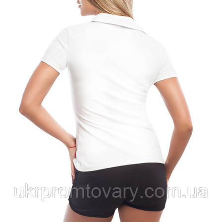 Женская футболка Поло - Cafe Sign, отличный подарок купить со скидкой, недорого, фото 2