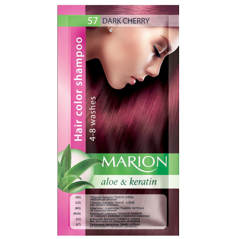 Оттеночный шампунь Marion Color №57 Темная вишня 40 мл (4118004)