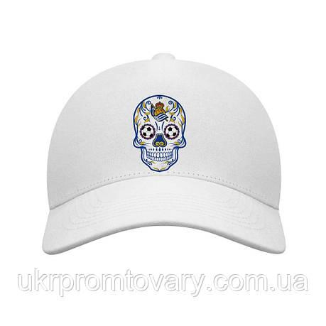 Бейсболка - real sociedad skull, отличный подарок купить со скидкой, недорого, фото 2