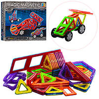 Конструктор магнитный Magic Magnetic JH6887, 66 дет