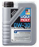 Масло моторное LIQUI MOLY LEICHTLAUF SPECIAL TEC V  0W-30 1L