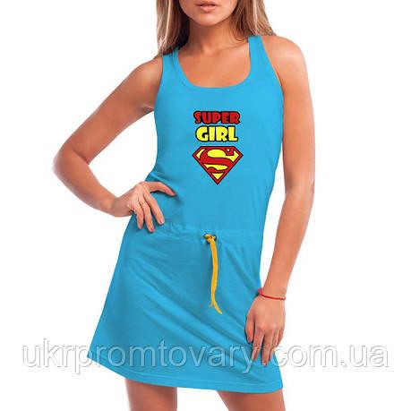 Платье - Super Girl, отличный подарок купить со скидкой, недорого, фото 2