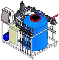 Система полива и дозировки удобрений SK/FD 6-45