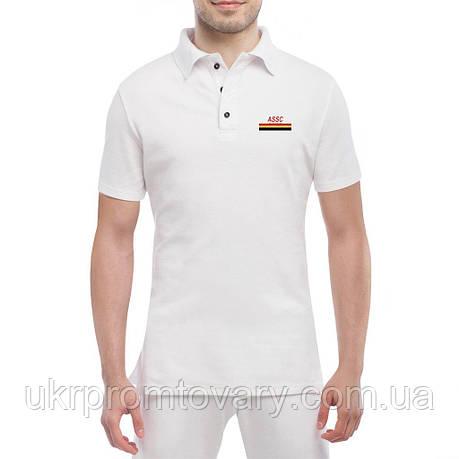 Мужская футболка Поло - Gold social club, отличный подарок купить со скидкой, недорого, фото 2