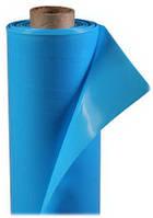 Плёнка ПЭ СОЮЗ 100мк, ширина 12м, длина 25м, Стабилизированная, UV-2 (на 2 сезона),трёхслойная, голубая