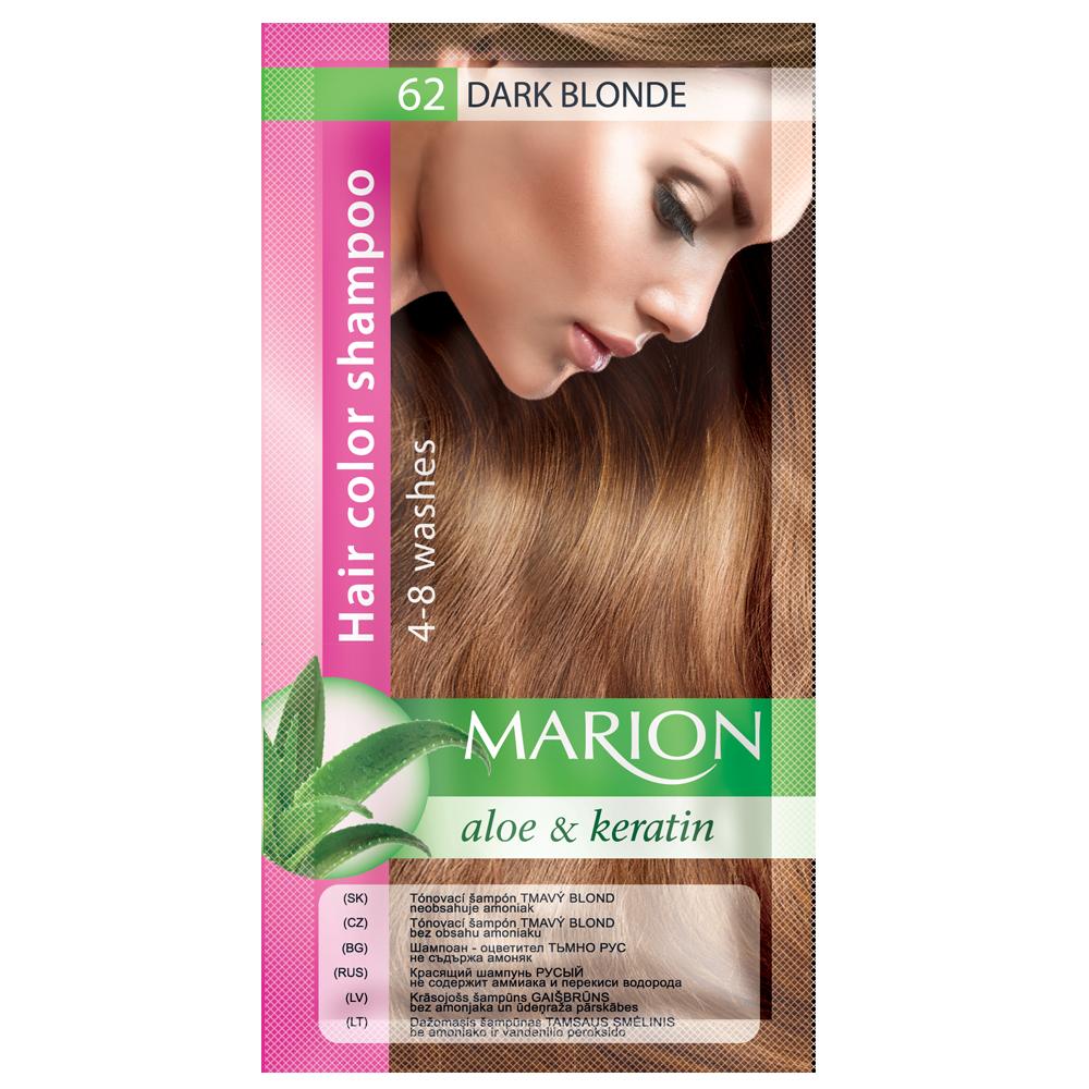 Оттеночный шампунь Marion Сolor № 62 Темный блонд 40 мл (4118007)