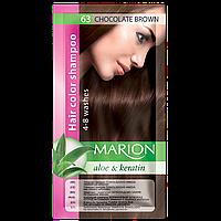 Оттеночный шампунь Marion Color № 63 Шоколадный коричневый 40 мл (4118008)