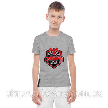 Футболка детская - crossfit MOAB, отличный подарок купить со скидкой, недорого, фото 2