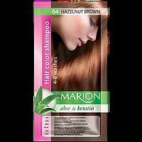 Оттеночный шампунь Marion Color № 64 Ореховый коричневый 40 мл (4118009)