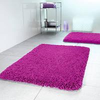 Коврик д/ванной polyester HIGHLAND 60х90 темно-розовый