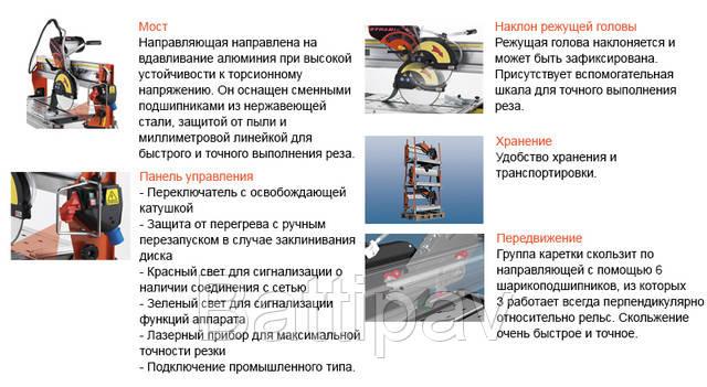 Профессиональный камнерез Battipav Dynamic 760 S
