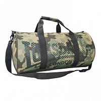 Оригинальная Cумка Lonsdale Barrel Bag - Army Camo