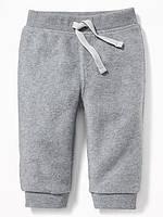 Флисовые серые штанишки Old Navy для мальчика