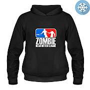 Кенгурушка утепленная - Zombie head hitter league, отличный подарок купить со скидкой, недорого