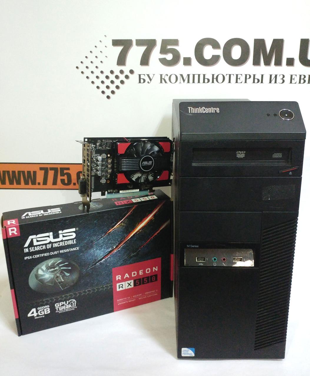 Lenovo M82 Tower Intel Core I3 2120 33ghz Ram 8 Hdd 250 Radeon Rx550 4gb