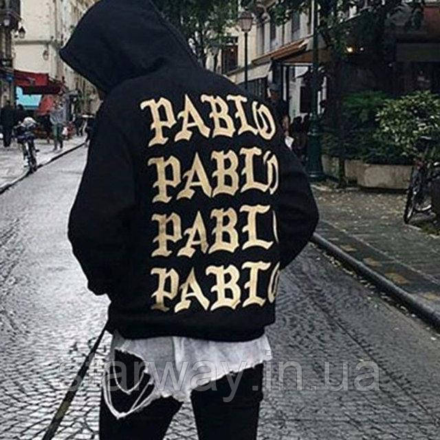 Худи принт I Feel Like Pablo | Толстовка стильная
