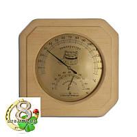 Термометр и гидрометр для бани сауны 2в1