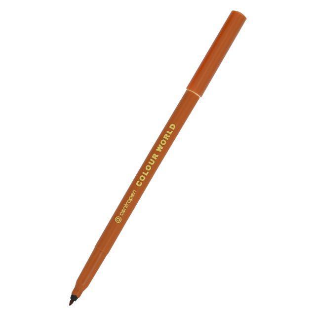 "Фломастер ""Centropen"" 7550 коричневый"