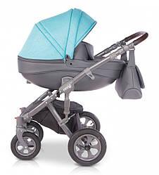 Детская коляска унивесальная 2 в 1 Verdi Avenir 02 blue (Верди, Польша)