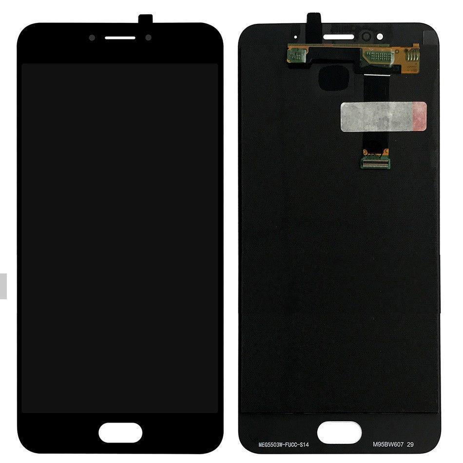 Дисплей (экран) для Meizu MX6 M685H с сенсором (тачскрином) черный Оригинал