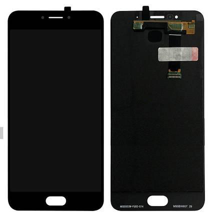 Дисплей (экран) для Meizu MX6 M685H с сенсором (тачскрином) черный Оригинал, фото 2